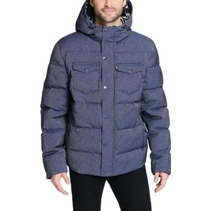 Levi's Performance Hooded Ultra Loft Puffer Jacket